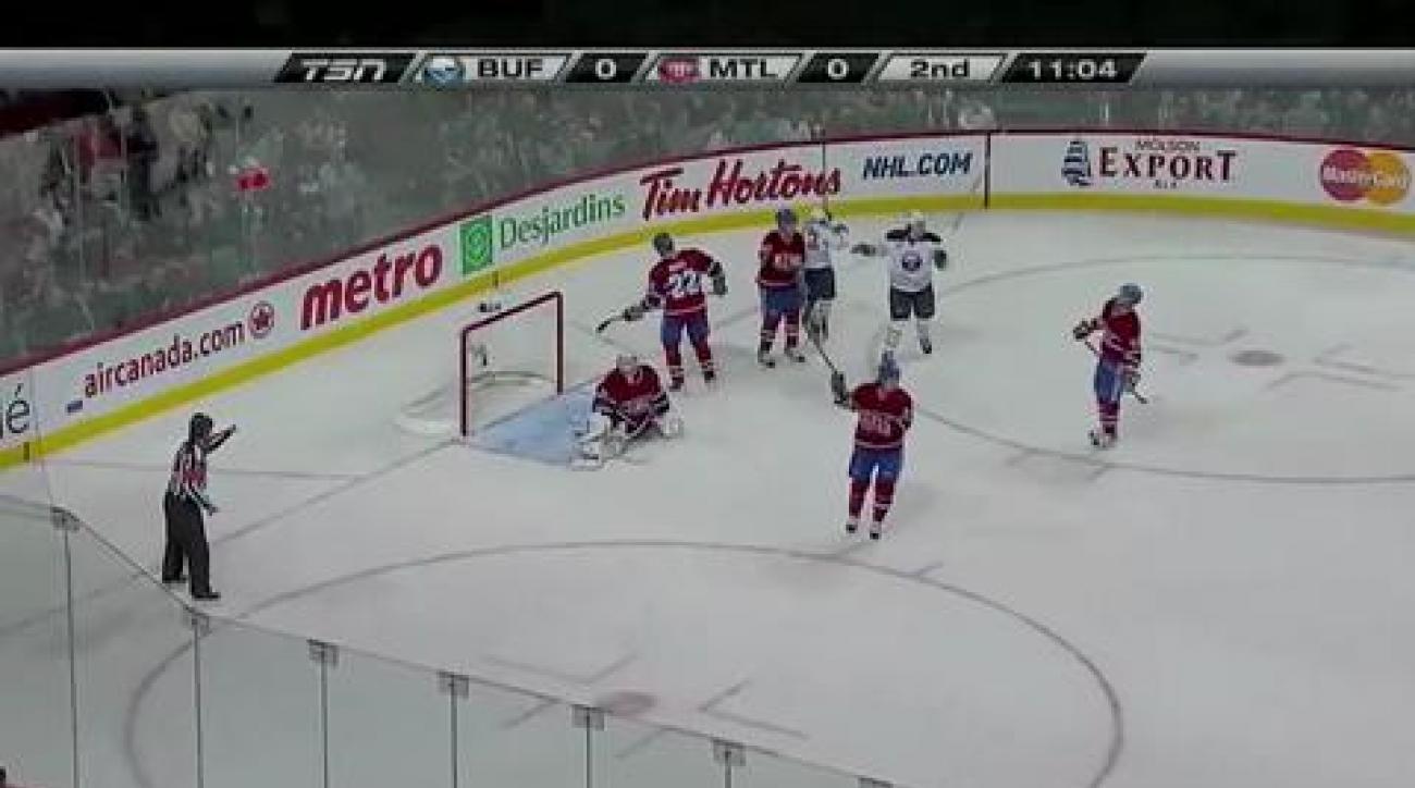 Miller, Sabres shut out Canadiens