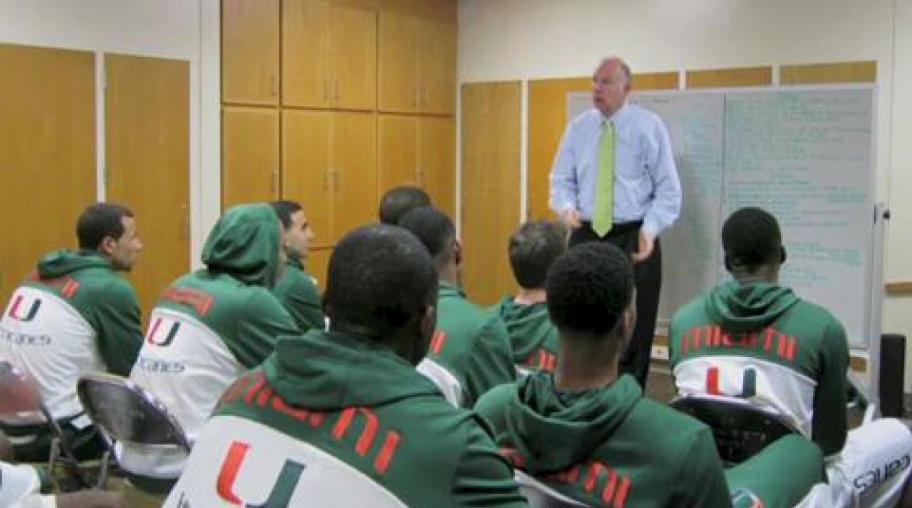 Hurricanes get focused before game vs. Pacific