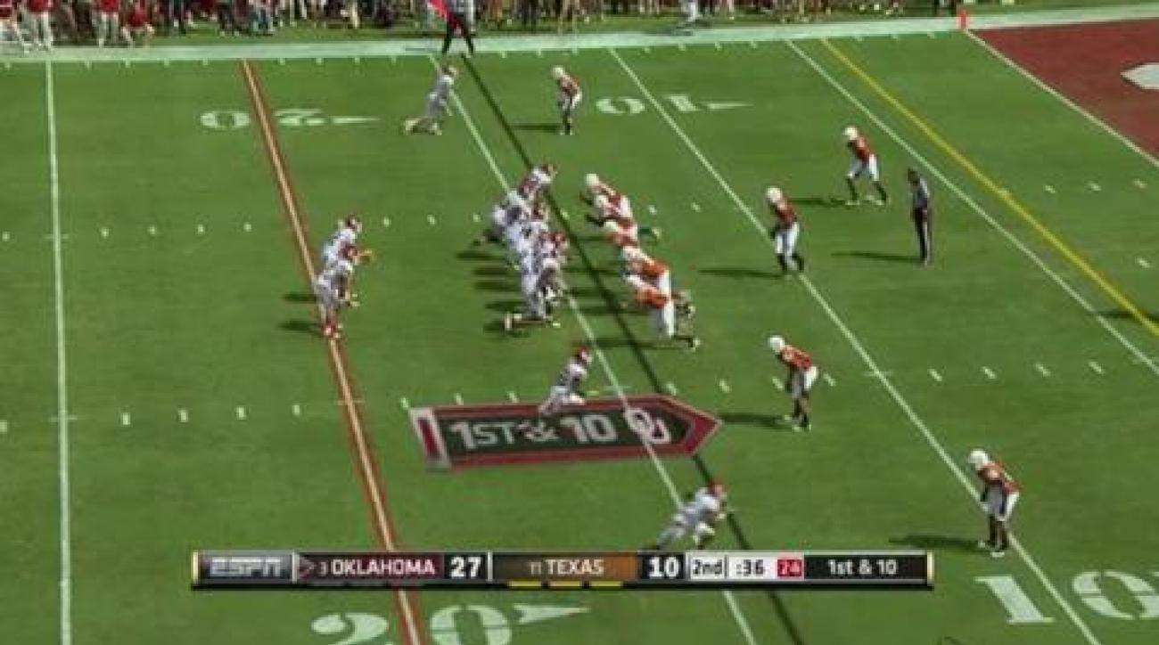 OU routs Texas in Red River Rivalry