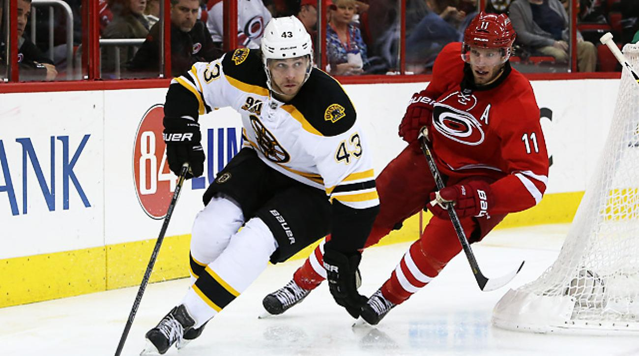 Bruins coast to 4-1 victory over the Hurricanes