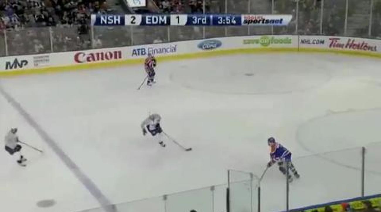 Predators beat Oilers in shootout