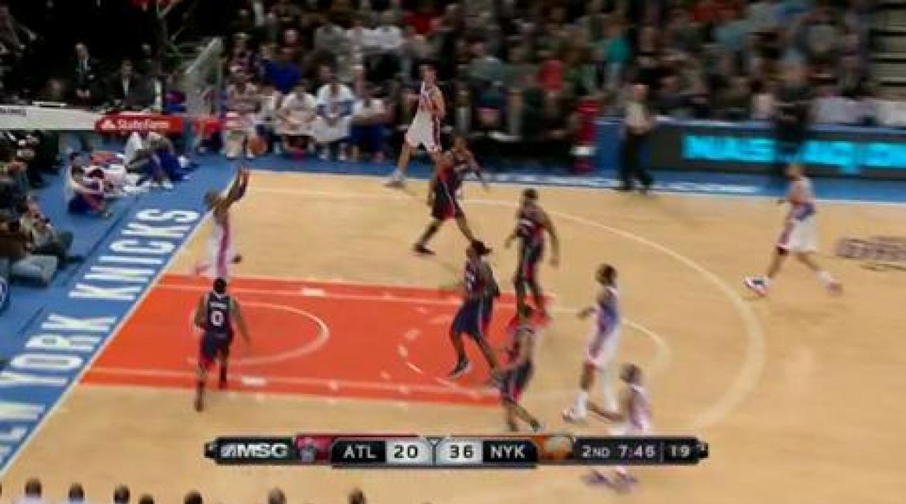 Lin, Knicks rout Hawks