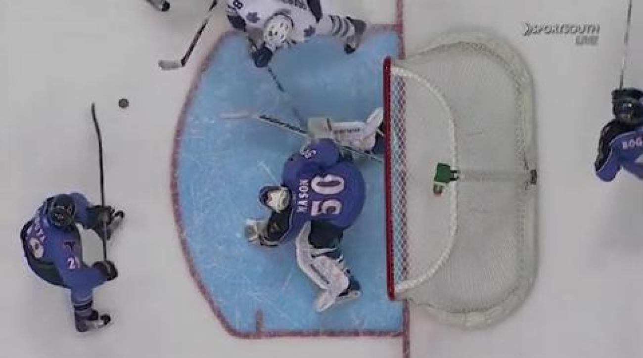 Thrashers top Maple Leafs in OT