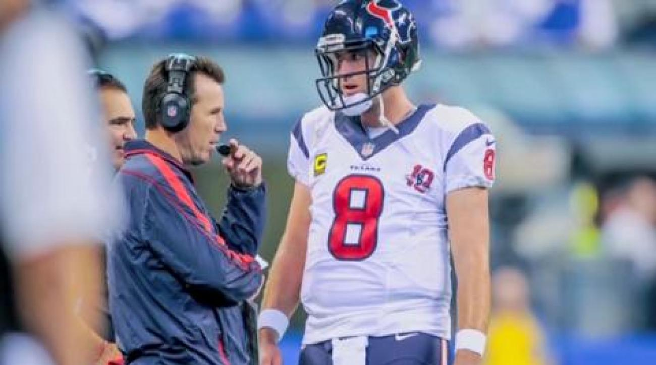 Peter King's playoff one minute drill: Texans
