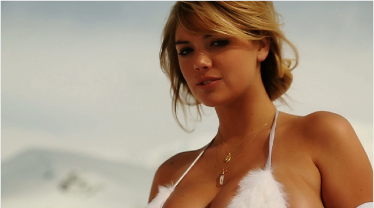 Swim Daily, Kate Upton Intimate