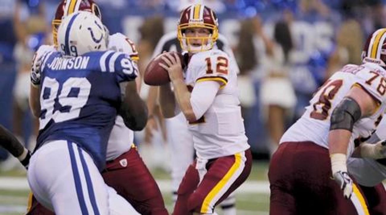 Peter King One Minute Drill: Redskins