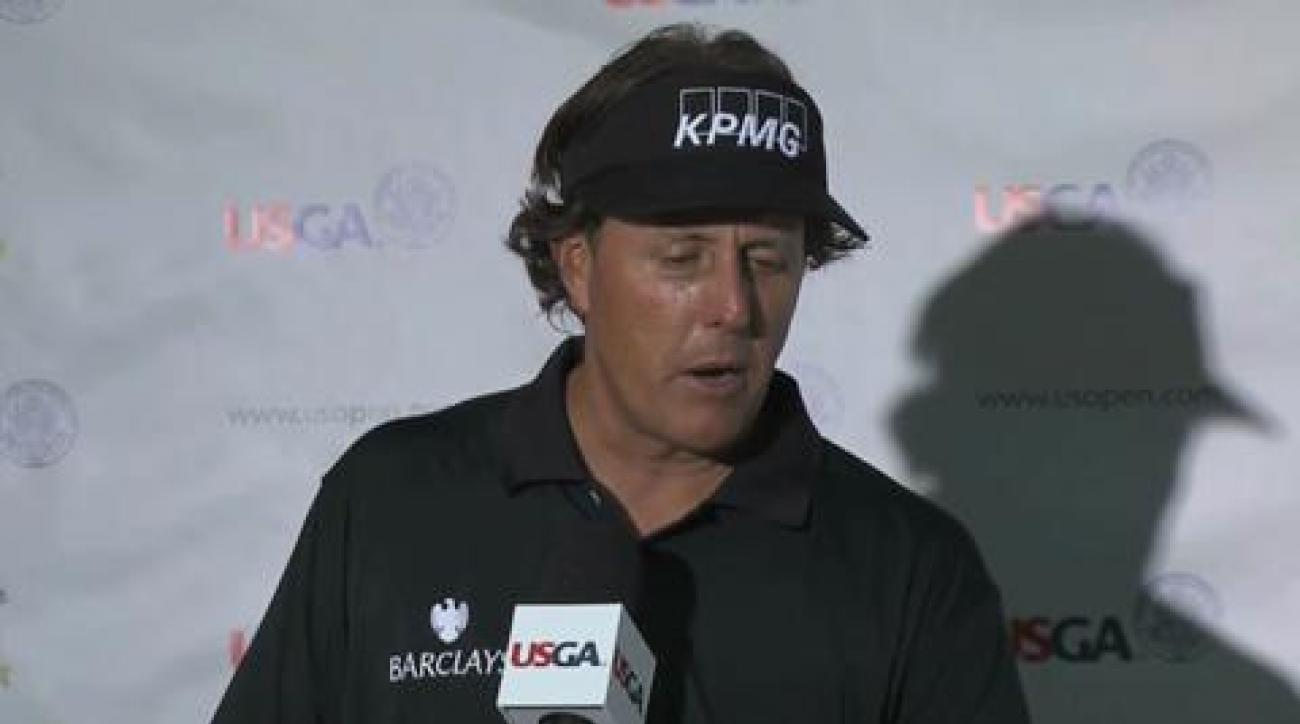 Phil Mickelson discusses 'heartbreaking' finish at U.S. Open