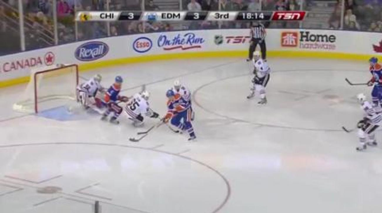 Record night for Gagner in Oilers win