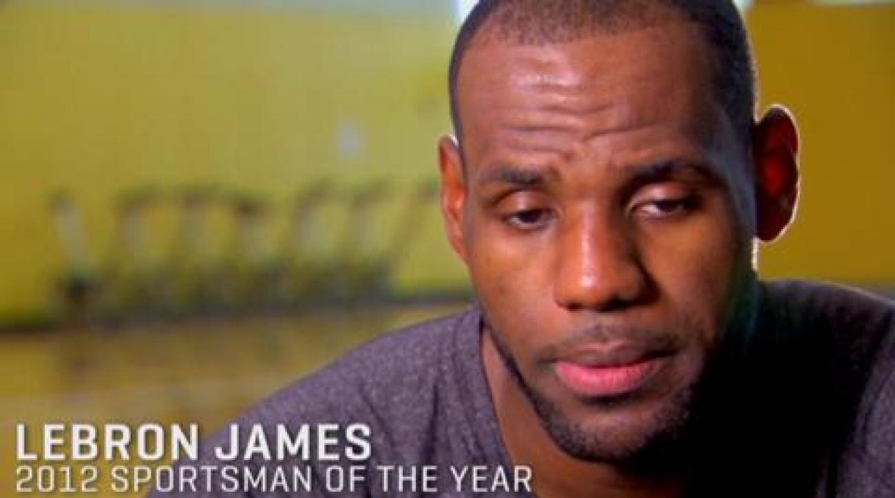 2012 Sportsman of the Year: LeBron James