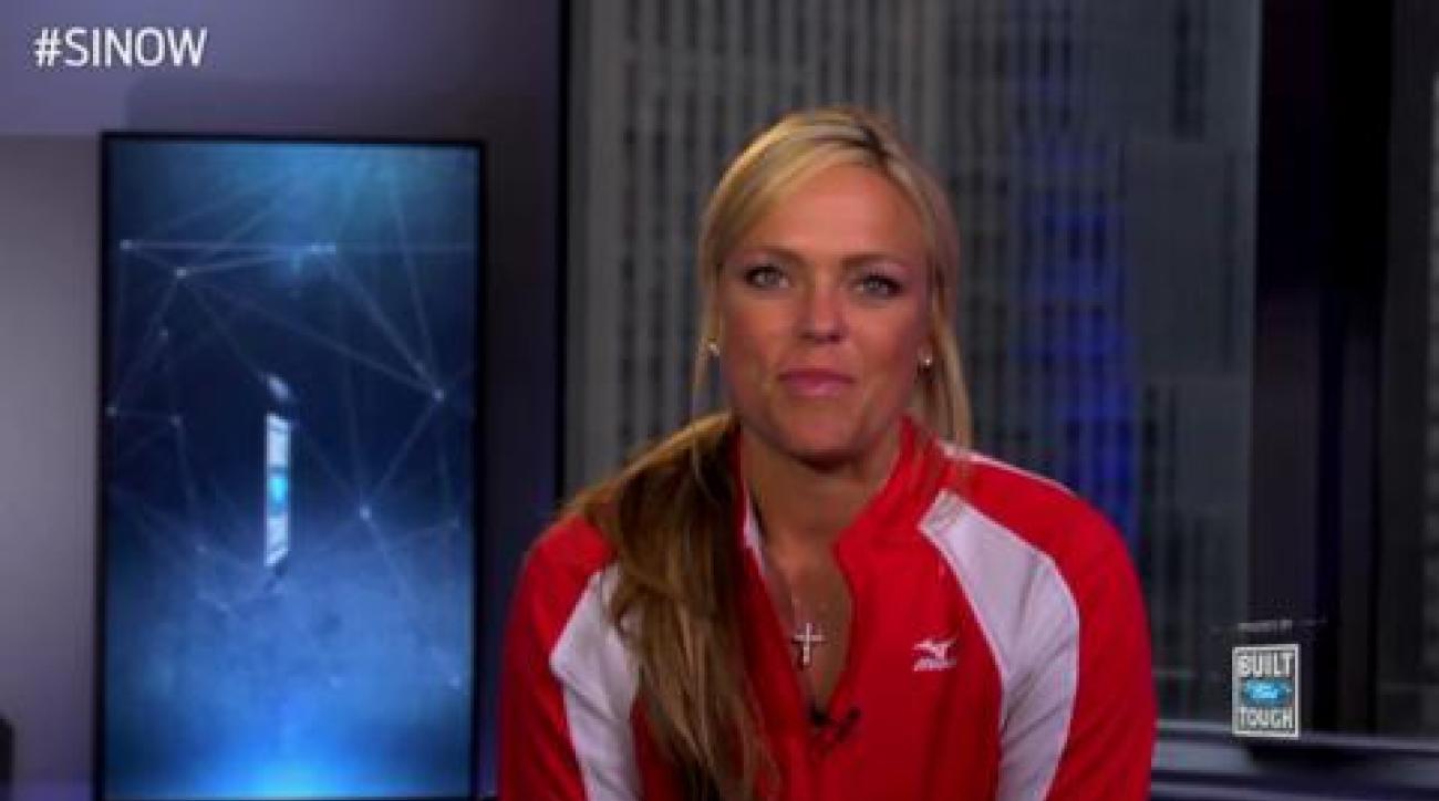 SI Now: Jennie Finch talks taking on a triathlon, posing for SI Swim again