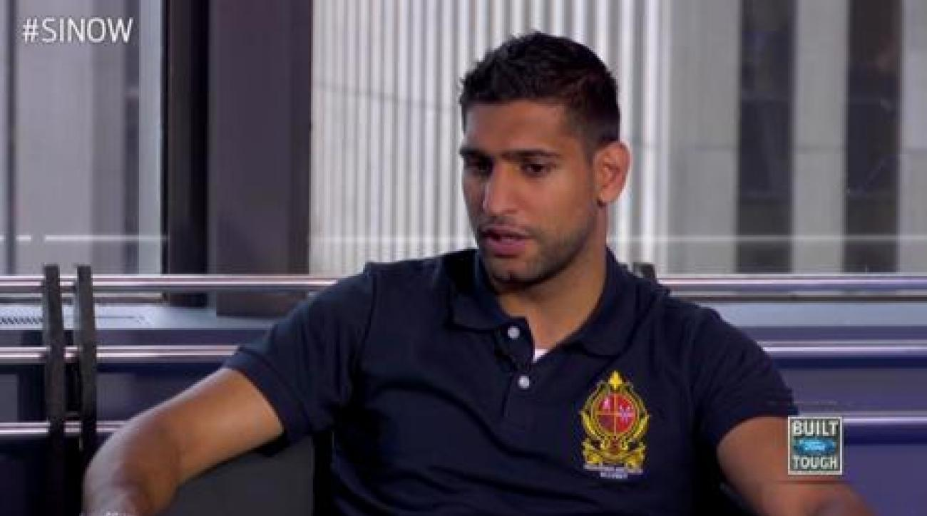 SI Now: Amir Khan picks Floyd Mayweather Jr. over Manny Pacquiao