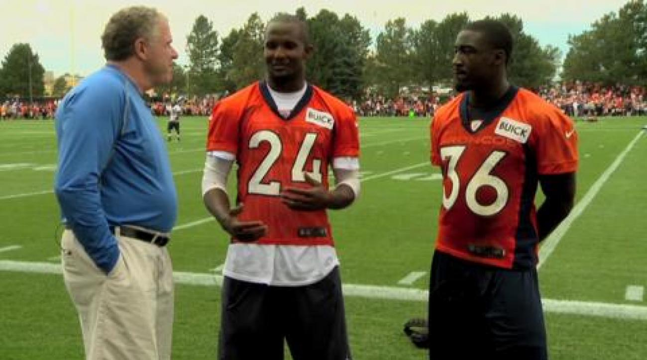 Rookie Mentors: Champ Bailey and Kayvon Webster