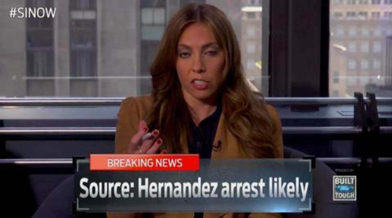 SI Now: Bedard on Aaron Hernandez latest