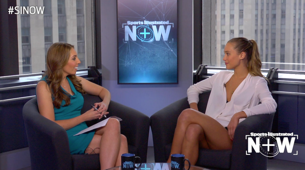 SI Now: Hannah Davis talks tennis, getting into modeling