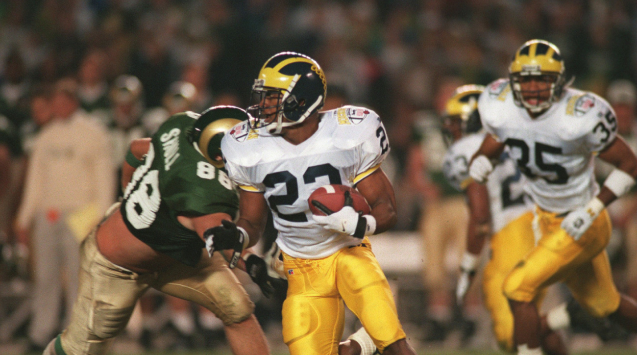SI Now: Amani Toomer and Ty Law on their Michigan playing days