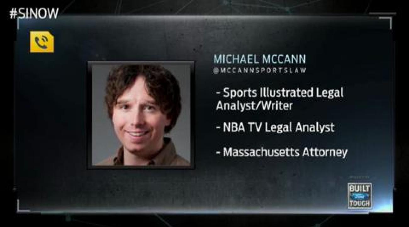 SI Now: Michael McCann on Aaron Hernandez's legal situation