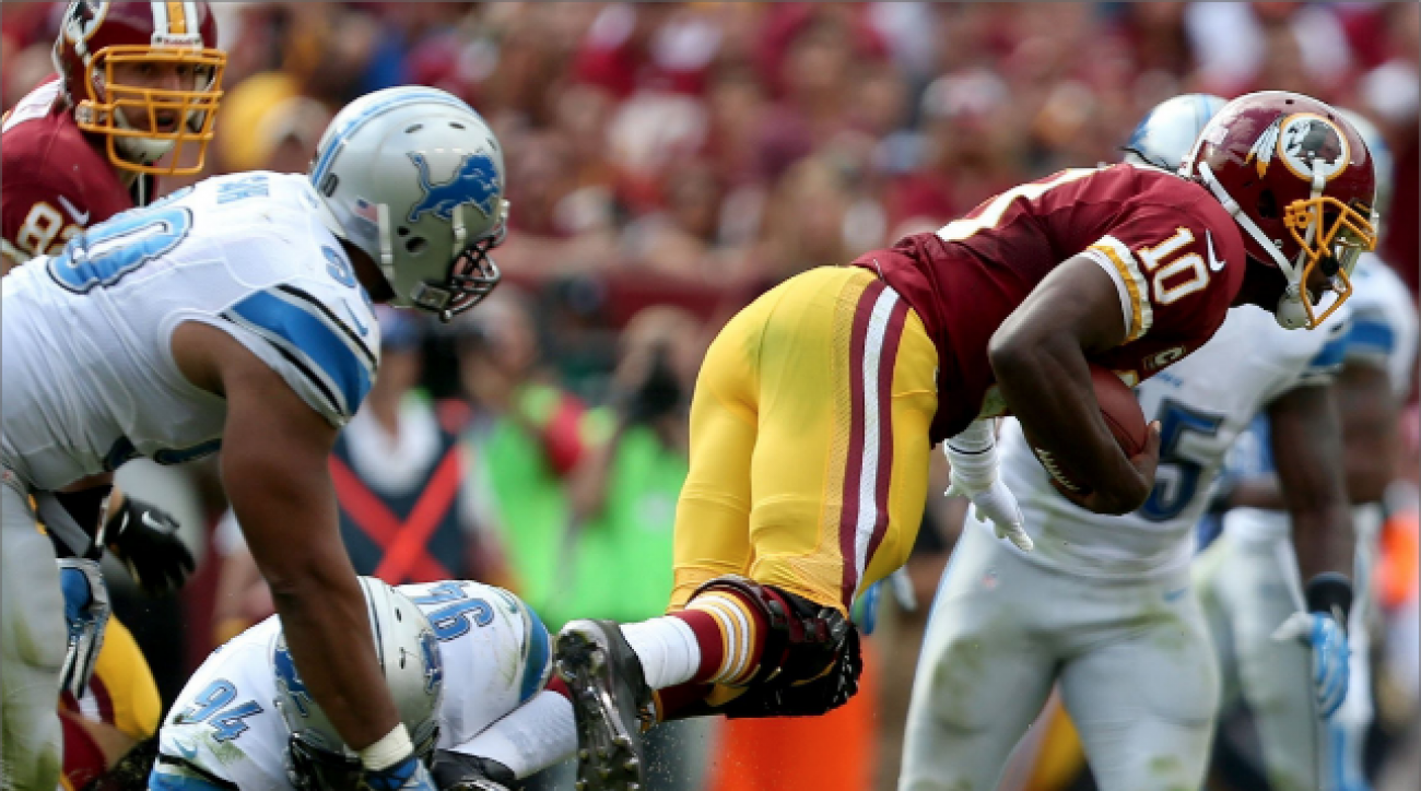 Pro Football Now: Perloff shows RGIII how to slide