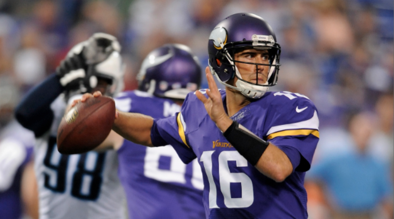 SI Now: Vikings replace Ponder with Cassel
