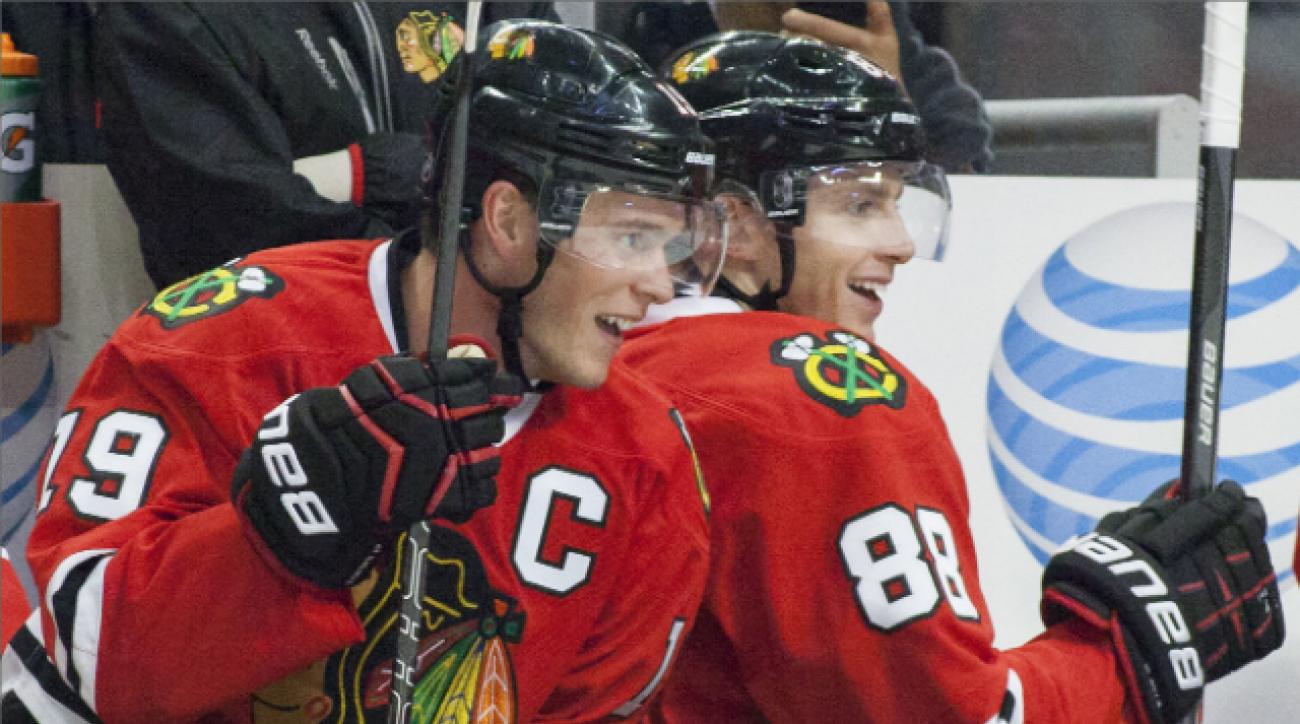 Toews, Kane on 'Hawks repeating