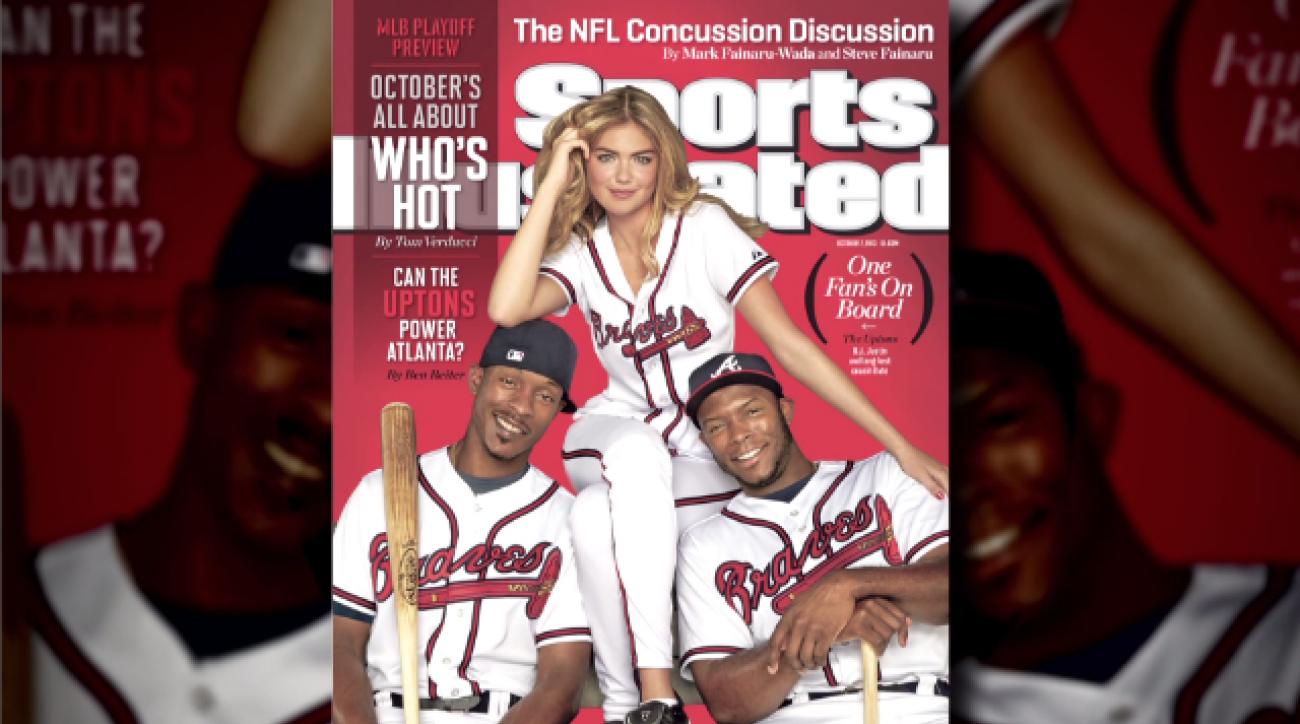 Behind the scenes: B.J., Justin and Kate Upton cover shoot