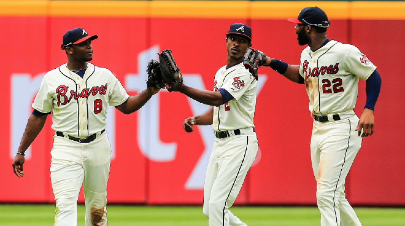 SI Now: Can Atlanta's outfield click in time for postseason?