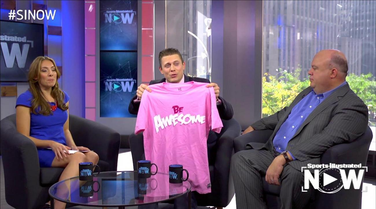 SI Now: WWE teams up with Susan G. Komen to help find cure