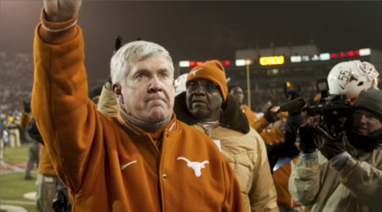 Last days for Mack Brown at Texas