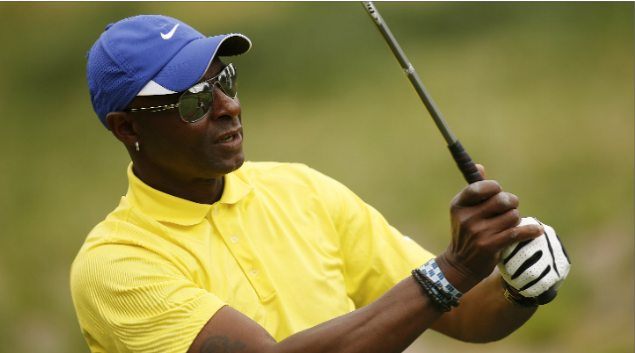 Pro Football Now: Jerry Rice and Tim Brown on their passion for golf