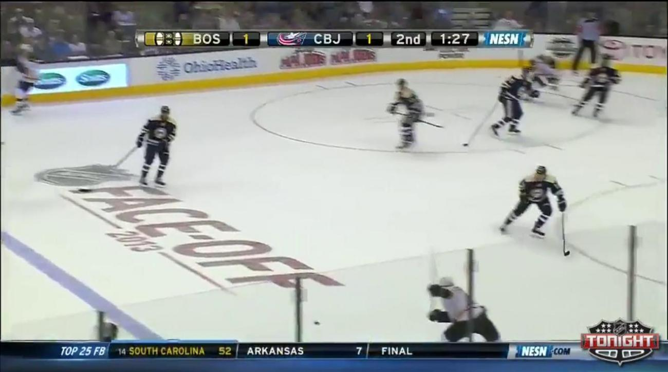 Boston Bruins top Columbus Blue Jackets 3-1