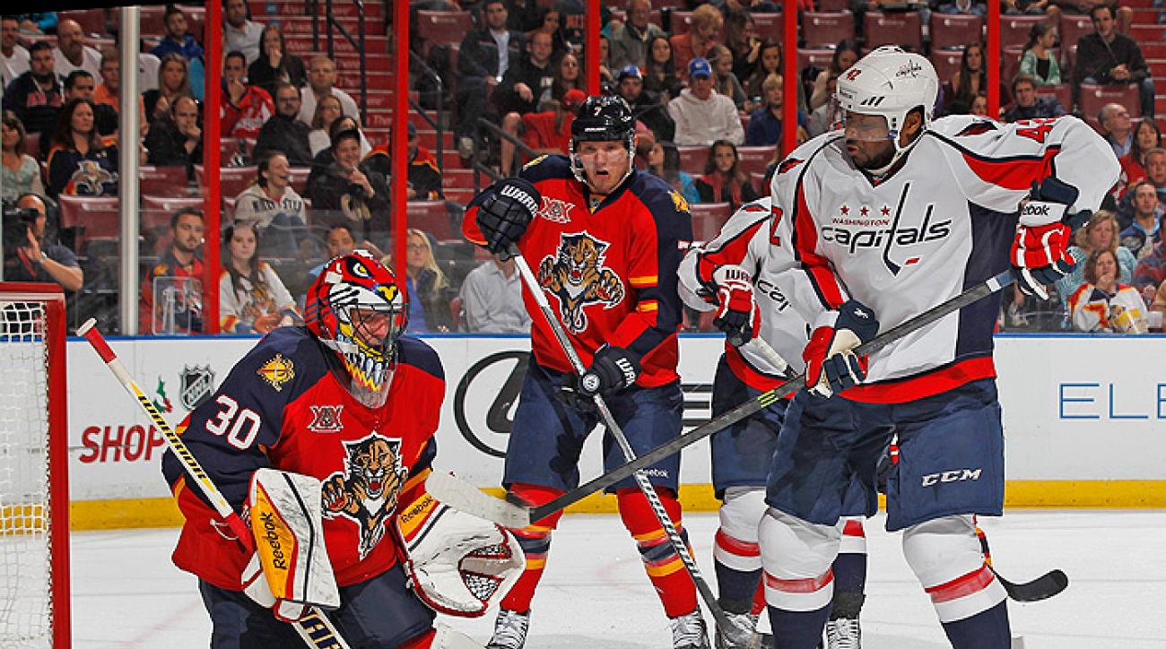 Panthers take down Capitals in marathon shootout