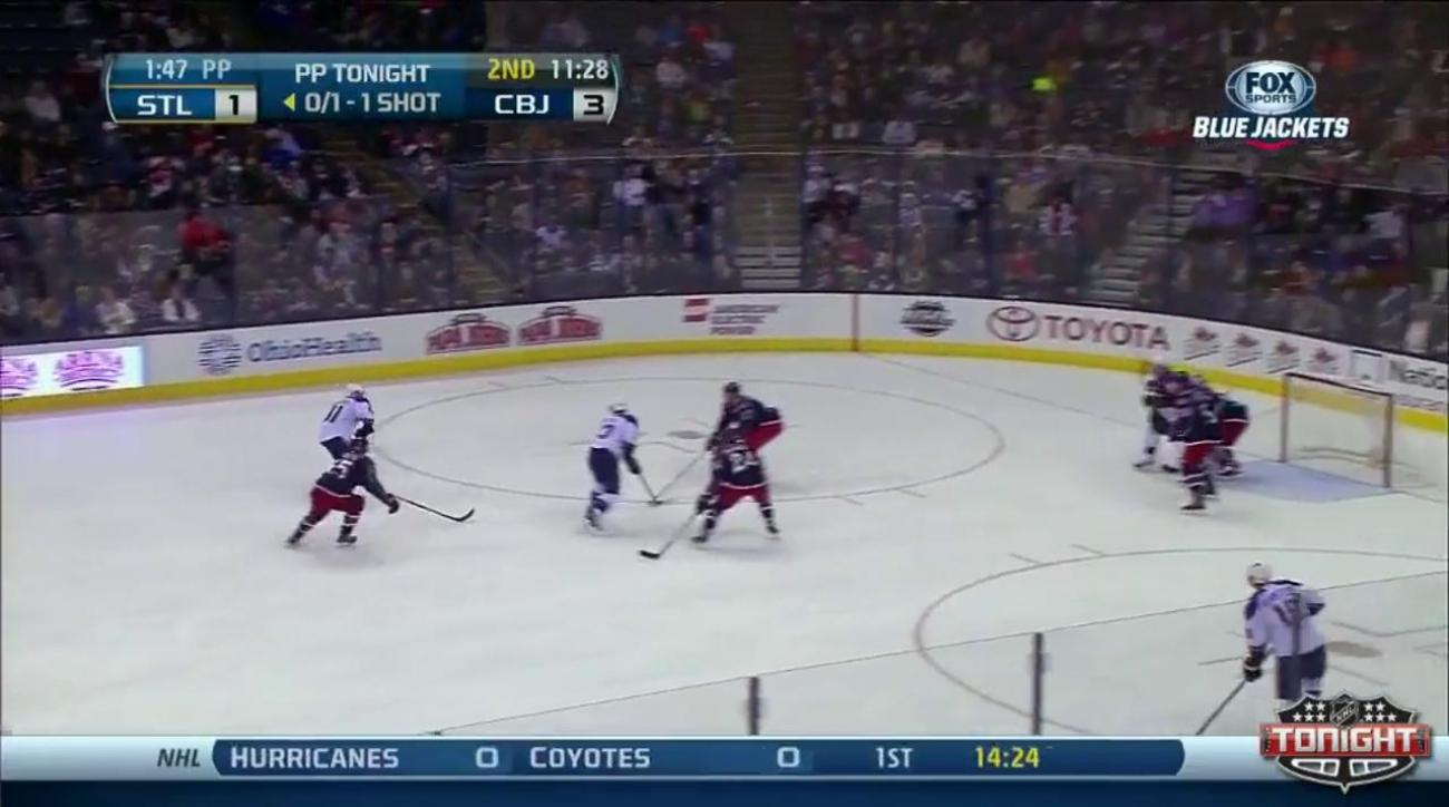 Backes caps Blues rally with OT strike in 4-3 win over Blue Jackets