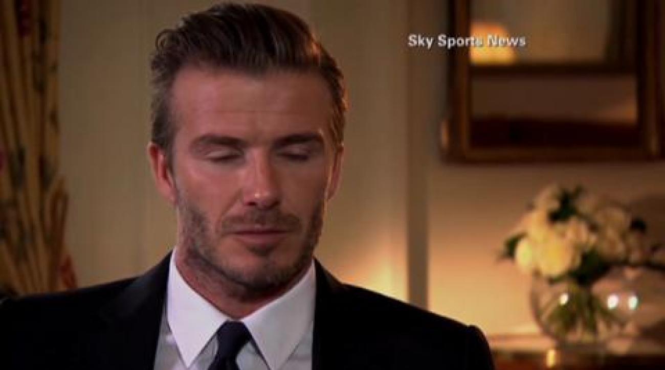 David Beckham reflects on career