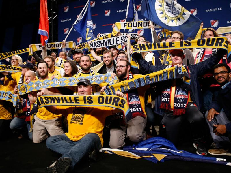 Nashville's MLS team hires Ian Ayre as its CEO