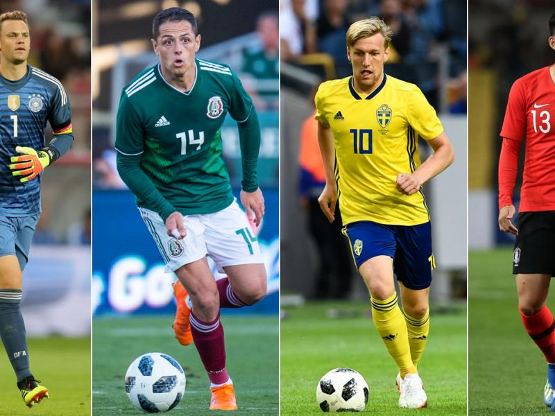 Germany, Mexico, Sweden and South Korea compete in World Cup Group F