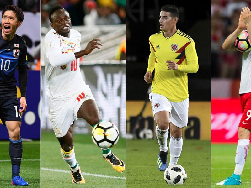 Japan, Senegal, Colombia and Poland square off in the World Cup's Group H