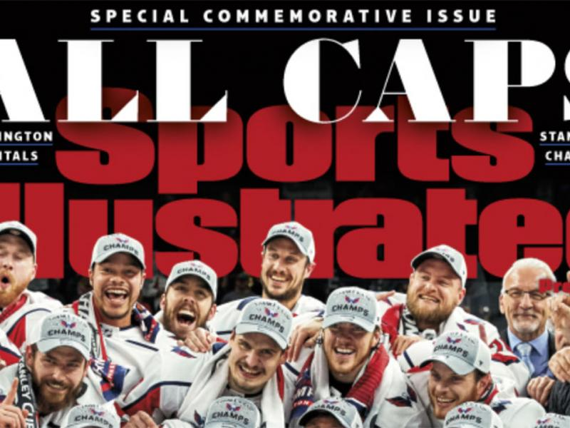 Capitals commemorative cover