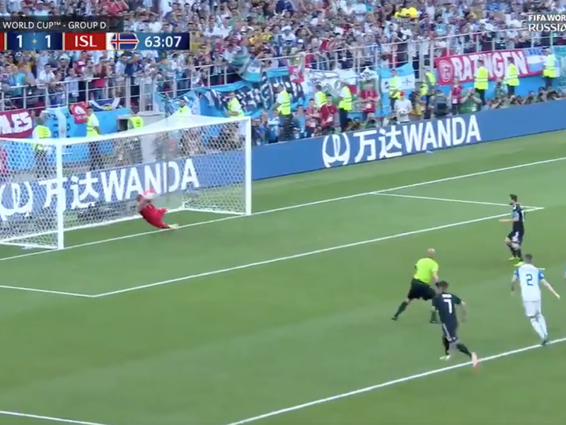 Iceland Argentina, world cup, iceland, argentina, 2018 world cup, lionel messi, Hannes Thor Halldorsson, Hannes Thor Halldorsson save, messi penalty kick video, Hannes Thor Halldorsson save video