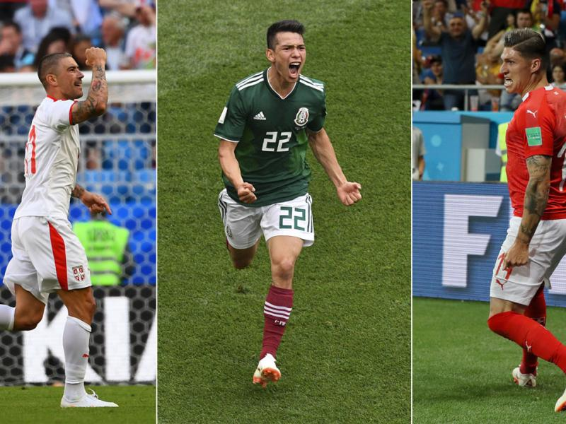 Serbia, Mexico and Switzerland impressed at the 2018 World Cup