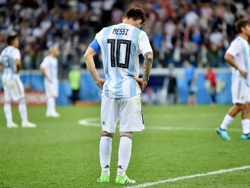 Lionel Messi and Argentina are facing potential elimination in the World Cup group stage