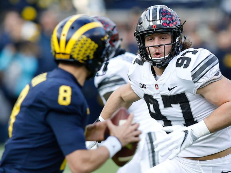 COLLEGE FOOTBALL: NOV 25 Ohio State at Michigan