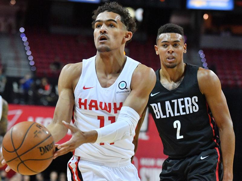2018 NBA Summer League - Las Vegas - Atlanta Hawks v Portland Trail Blazers