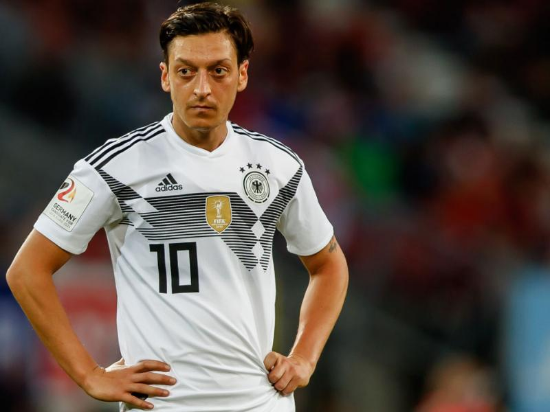 Mesut Ozil won't be playing for the Germany national team again