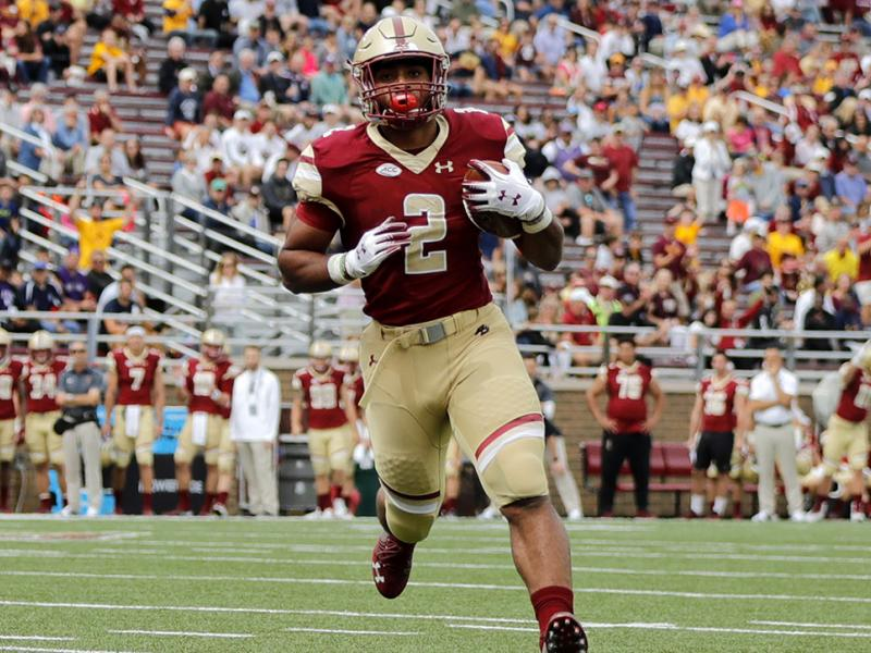 Boston College RB AJ Dillon