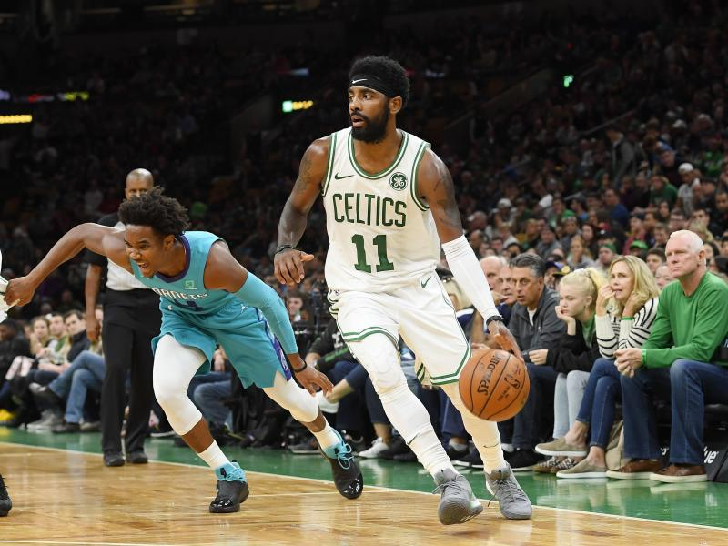 Kyrie Irving says he will re-sign with Celtics