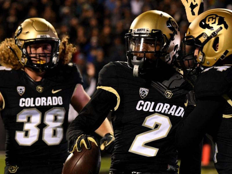 university of colorado vs. UCLA football