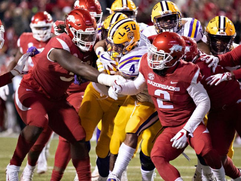 LSU v Arkansas