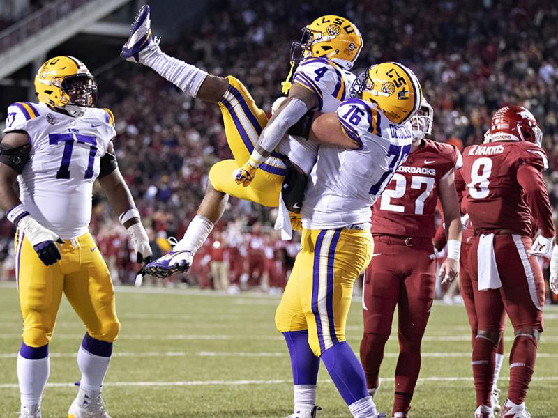 LSU vs. Arkansas