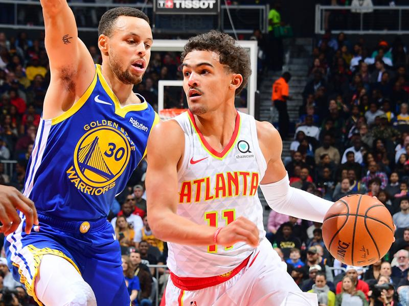 Golden State Warriors v Atlanta Hawks