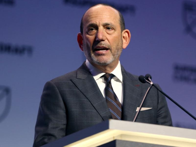 MLS commissioner Don Garber is set to oversee the league's 24th season