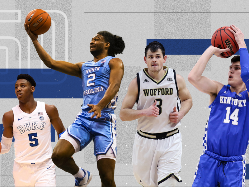 March Madness College Basketball Top 50 Players 2019